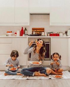 Pasta cute family photography mommy kids childhood happy adorable fun photos