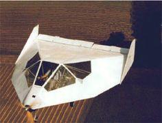 Wainfan Facetmobile, 1993. AKA full size pepakura airplane