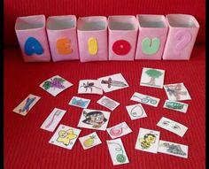 Preschool Learning Activities, Alphabet Activities, Toddler Activities, Preschool Activities, Kids Learning, Teaching Vowels, Teaching Aids, Kids Education, Phonics