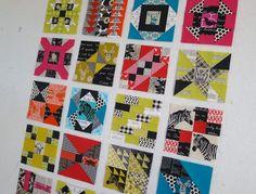 Elizabeth Hartman's Farmer's Wife quilt blocks