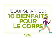10 bienfaits de la course à pied #CourseAPied #jogging