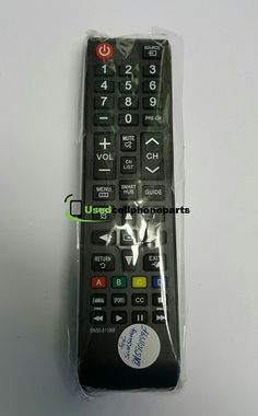 New TV Remote Control BN5901199F Replacement for Samsung LED LCD HDTV Smart TV Samsung Remote Control, Tv Remote Controls, Smart Tv, Samsung Tvs, Alkaline Battery, Back Camera, Glass Film