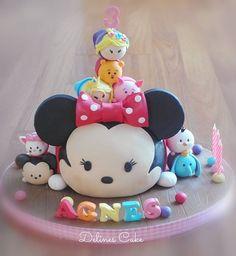 Tsumtsumcake Always love to make this cake…