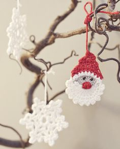 Pattern to make this sweet Santa