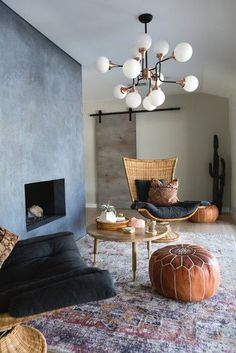 If you're feeling indecisive about revamping your home's style, pick and choose your perfect minimalist colors and select boho-chic accents. Here's how you can combine the two styles seamlessly. #hunkerhome #bohochic #minimalist #minimalistboho Chic Living Room, Living Room Modern, Living Room Designs, Living Room Decor, Living Rooms, Cottage Living, Bohemian Living, Modern Bohemian, Bohemian Style