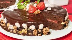 Receta de Tarta de chocolate 100%