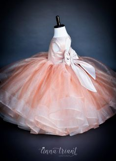 demitra Most Popular Flowers, Lace Flower Girls, Horse Hair, Special Occasion Dresses, Tulle, Gowns, Acer, Princess, Fashion