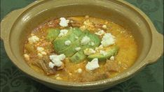 Ecuadorian Soup - Ecuador has a wide variety of unique dishes that are not often seen in the U.S., such as Locro, a potato soup garnished with different foods and most importantly, avocado.