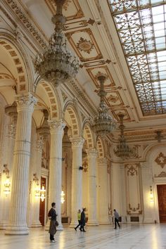 Romania Travel Inspiration - The Parliament Palace, second largest building in the world, Bucharest Places Around The World, The Places Youll Go, Places To See, Around The Worlds, Wonderful Places, Beautiful Places, Transylvania Romania, Visit Romania, Romania Travel