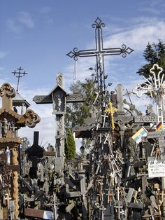 Lithuania; Hill of Crosses