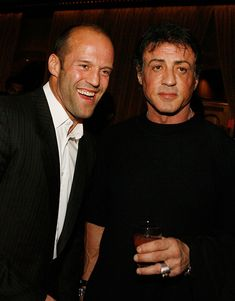 LAS VEGAS - NOVEMBER Actor Jason Statham and Sylvester Stallone attend Planet Hollywood Resort & Casino's Transporter 3 premiere on November 2008 in Las Vegas, Nevada. (Photo by Isaac Brekken/WireImage)