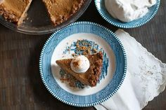 Apple Butter Pie with Cookie Crust
