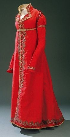 Cheap victorian dress, Buy Quality satin dress directly from China dress dress dress Suppliers: 1810 Redingote Medieval Clothing Victorian dress satin dress Retro Mode, Vintage Mode, Vintage Gowns, Vintage Outfits, 1800s Fashion, 19th Century Fashion, Vintage Fashion, 16th Century, Medieval Clothing