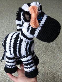Crochet Zebra, Crochet Octopus, Crochet Baby, Knit Crochet, Toy People, Handmade Stuffed Animals, Crafty Craft, Amigurumi Doll, Crochet Animals