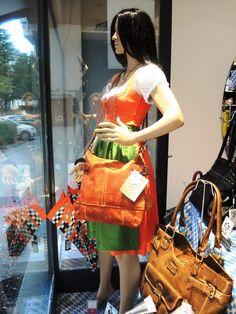 Herbst-Auslage von Kirsche's Taschen und mehr...!