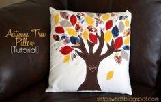 DIY tree pillow