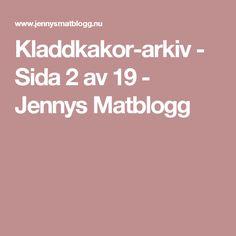 Kladdkakor-arkiv - Sida 2 av 19 - Jennys Matblogg