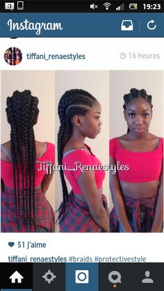 Cornrows / Ghana braids