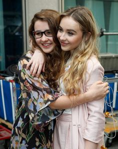sabrina carpenter and friends | Sarah Carpenter and Sabrina Carpenter pose during 'FOX & Friends' All ...