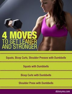 Lean Down & Get STRONG with this workout! #lean #strong #workout