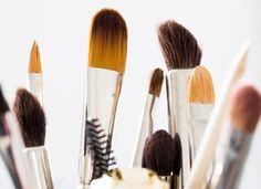 Easy-clean make-up brushes.   Fact: The makeup brushes you use every day are chock full of bacteria, dust and dirt. Translation: You should probably clean them more often than once every, er, never. The easiest way to do so? Give them a quick blot and rubdown with makeup wipes (genius) after every couple of uses.