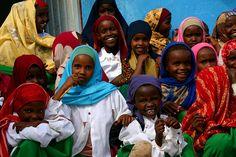 Somali Girls - Kebribeya Camp, Ethiopia