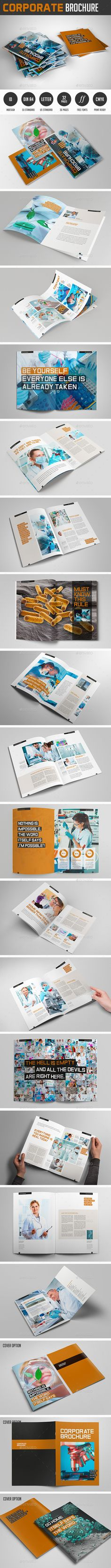 Creative Brochure Vol 23 - A4 Landscape Brochure template - company brochure templates