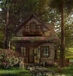 Tiny cottage - lovely!                                                                                                                                                                                 More