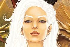 Mhysa / Daenerys Targaryen.  by Lorena Assisi, via Behance