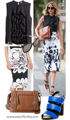 Paris Fashion Week street style! Summer 2015 - get the look for less!