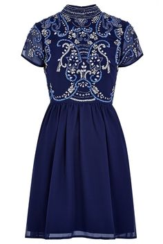 Frock and Frill Embellished Dress - idea for sewing a Martha dress