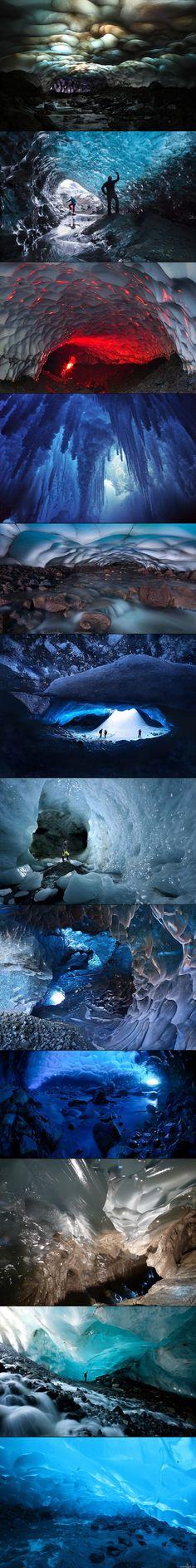 Kuvia jääluolista