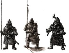 Dwarven infantry by Tulikoura.deviantart.com on @deviantART