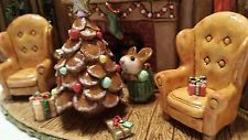 Wee Forest Folk 'Home for Christmas' 2014 special event limited edition OAK