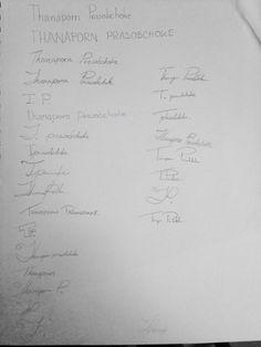 Thanaporn Prasobchoke Typography SP2015 SCC Assignment#1 John Hancock Description: design your own signature