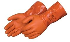 """Atlas 620 Double Dipped 12"""" PVC Chemical Resistant Gloves - Sold By The Dozen for $38.25 Sizes Small-2XL.  Recommended for general purposes, protection in fisheries, gardening and chemical resistant liquid protection jobs."""