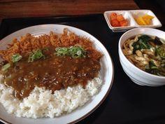 2014.9.24 점심. 가츠 카레