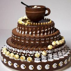Animated Zoetrope Cake