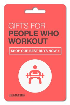 If you know someone who lives in the gym then it can be tricky to know what to buy them when it comes to choosing a gift.Take a look below at our list of the best gifts for people who love working out.