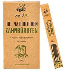 Amazon.de: ECOMONKEY® ♻ Die nachhaltigen Bambus Zahnbürsten im 4er Set + 100% vegan + 100% BPA-frei + weiche Borsten