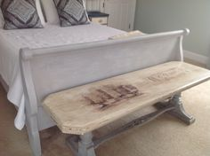 Hand painted bench https://www.facebook.com/8ritishAccents