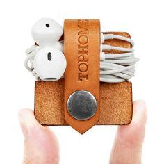 Earphone Organizer Earbud Holder USB Cable Oganizer Headphone
