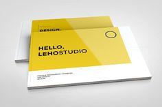 Modern Portfolio Booklet (36 pages) by celcius design on @creativemarket