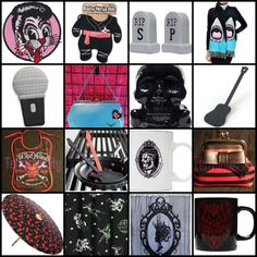 New Arrivals, Sales, Make Offers & Free US Shipping on 100's Of Gifts in our ebay store: http://stores.ebay.com/TerminusCitycomGiftsThatRock ~~ #guitar #bands #mic #baby #kids #rock #rockandroll #skulls #patches #metal #punk #zombie #ninja #halloween #psychobilly #rockabilly #straycats #luxdeville #devil #heavymetal #parasol #cherries #monster #frankenstein #horror #terminuscity