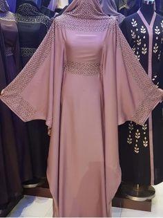Made in Dubai Abaya. A stunningly beautiful abaya - Dresses Mode Niqab, Abaya Mode, Islamic Fashion, Muslim Fashion, Modest Fashion, Abaya Designs Dubai, Habits Musulmans, Hijab Style Dress, Hijab Chic