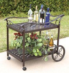 Bridgeton Moore Charleston Beverage Cart - http://www.fivedollarmarket.com/bridgeton-moore-charleston-beverage-cart/