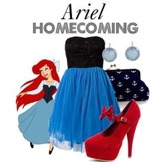 """Ariel"" by bryannnne on Polyvore"