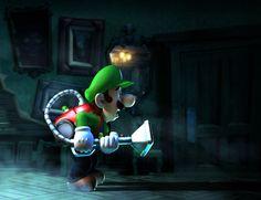 Luigi searching - Luigi's Mansion Dark Moon  Me too buddy, me too