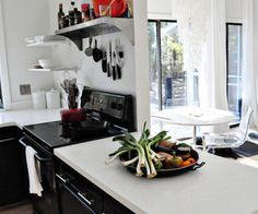 Black & White in the Kitchen and Dining Room — Roommarks | Home Decor News