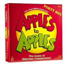 Apples to Apples Party Box Ages 12+ #gifts #under$25
